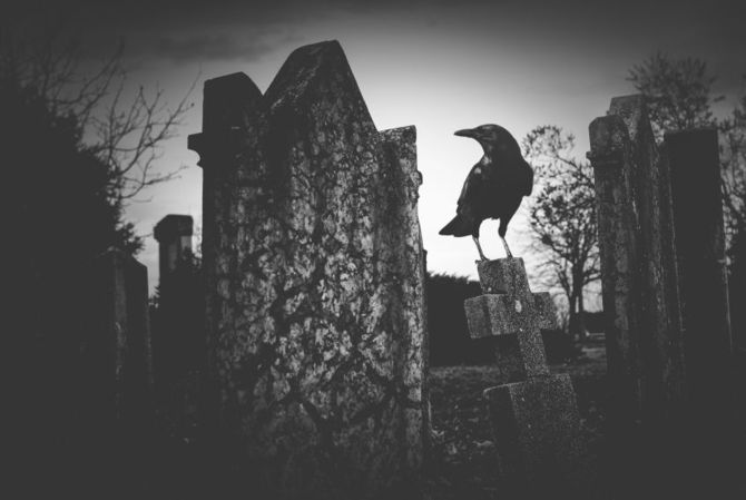 Al cimitero