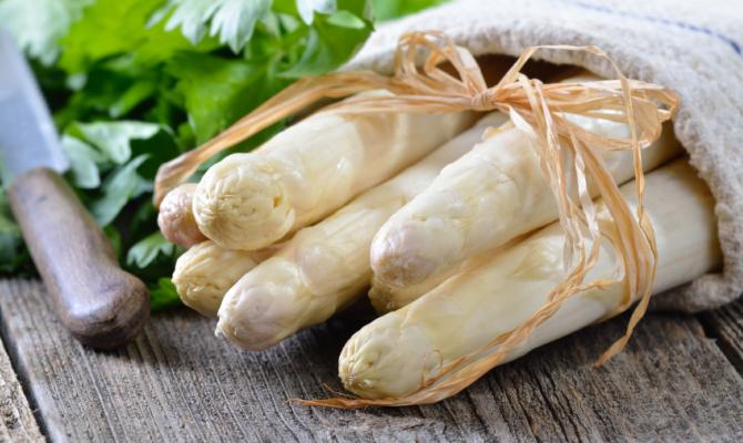 Prodotti DOP: l'Asparago Bianco di Bassano