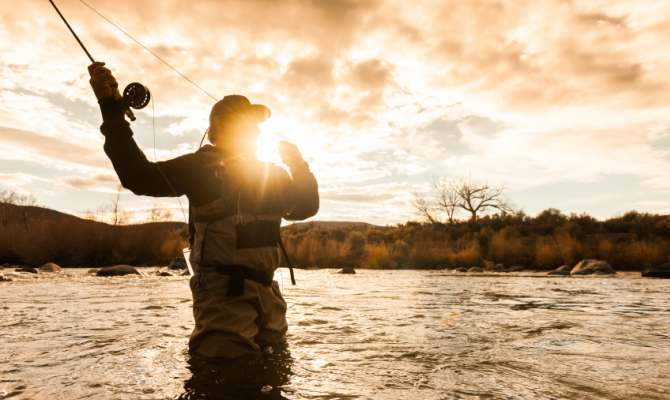 Pesca a mosca, oltre lo sport