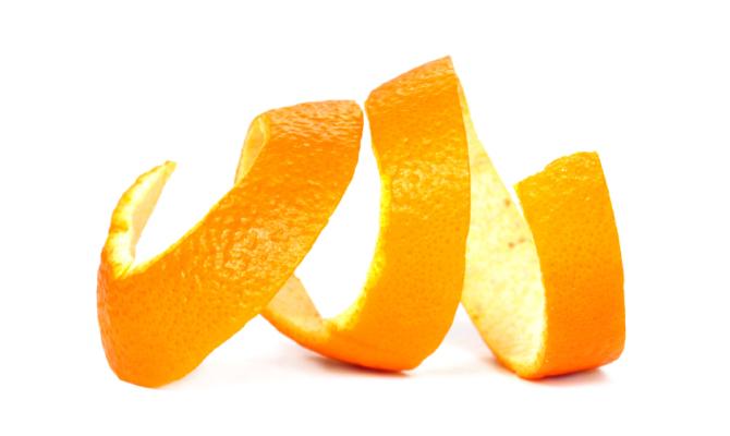 Bucce d'arancia: istruzioni per l'uso