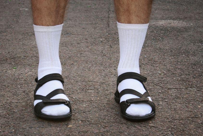5 I calzini con i sandali