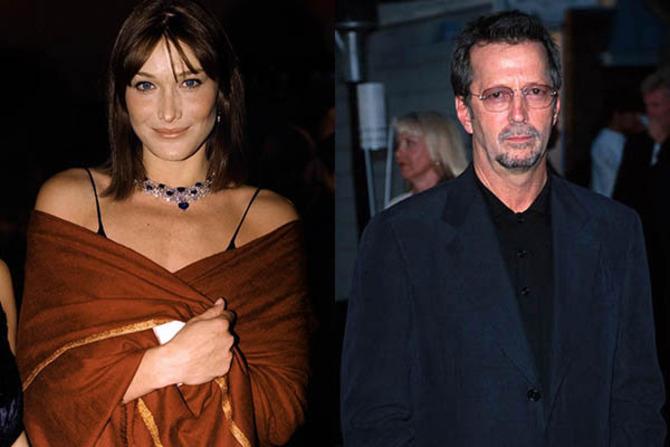 Carla Bruni ed Eric Clapton