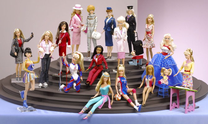 A Roma Barbie si mette in mostra