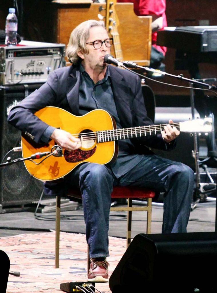 Eric Clapton oggi