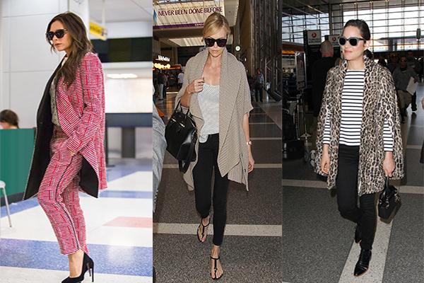 I migliori outfits delle celebrities in viaggio