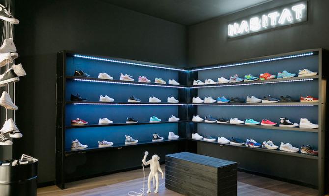 Nasce Habitat, il paradiso degli sneakers-addict