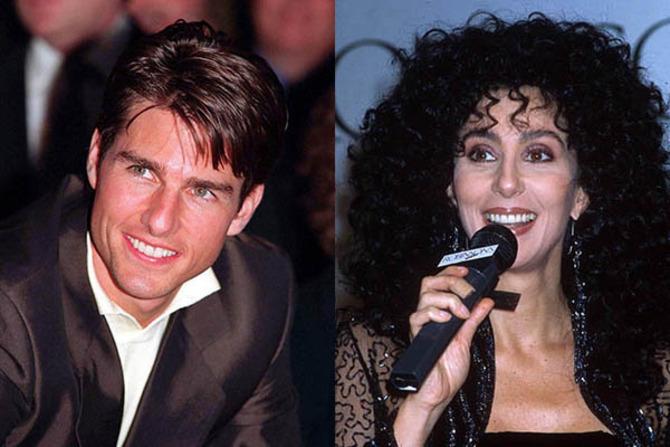 Ton Cruise e Cher