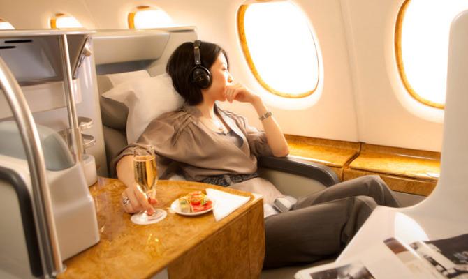 Emirates interno aereo
