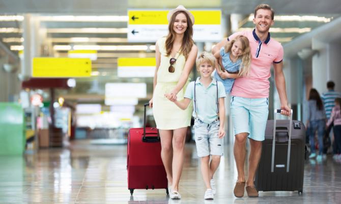 Viaggiare con la famiglia