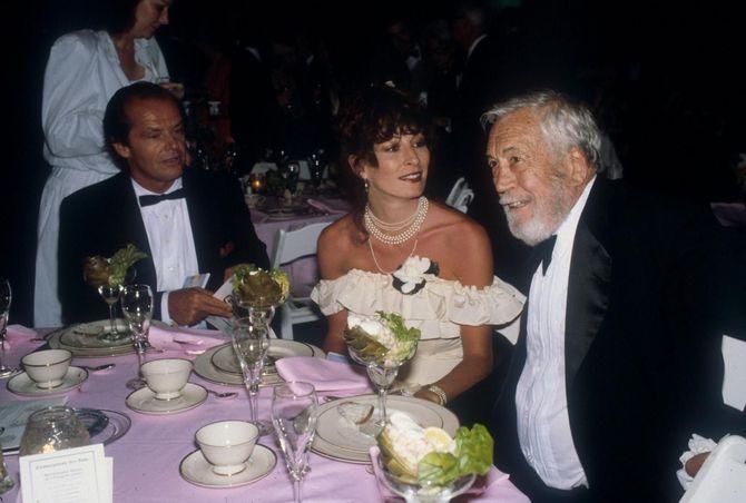 Jack Nicholson e Anjelica Huston