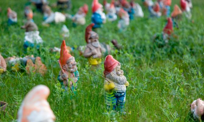 Rivoluzione nani da giardino for La storia dei nani da giardino