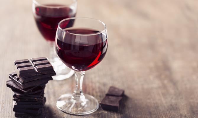 Vino e cioccolato