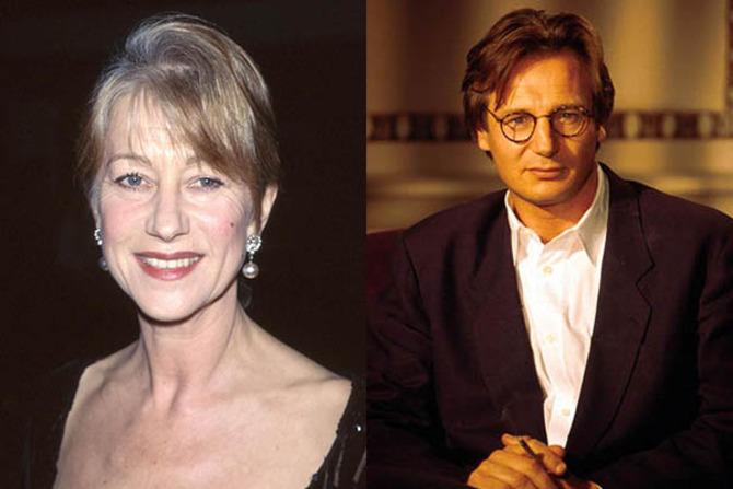 Helen Mirren e Liam Neeson