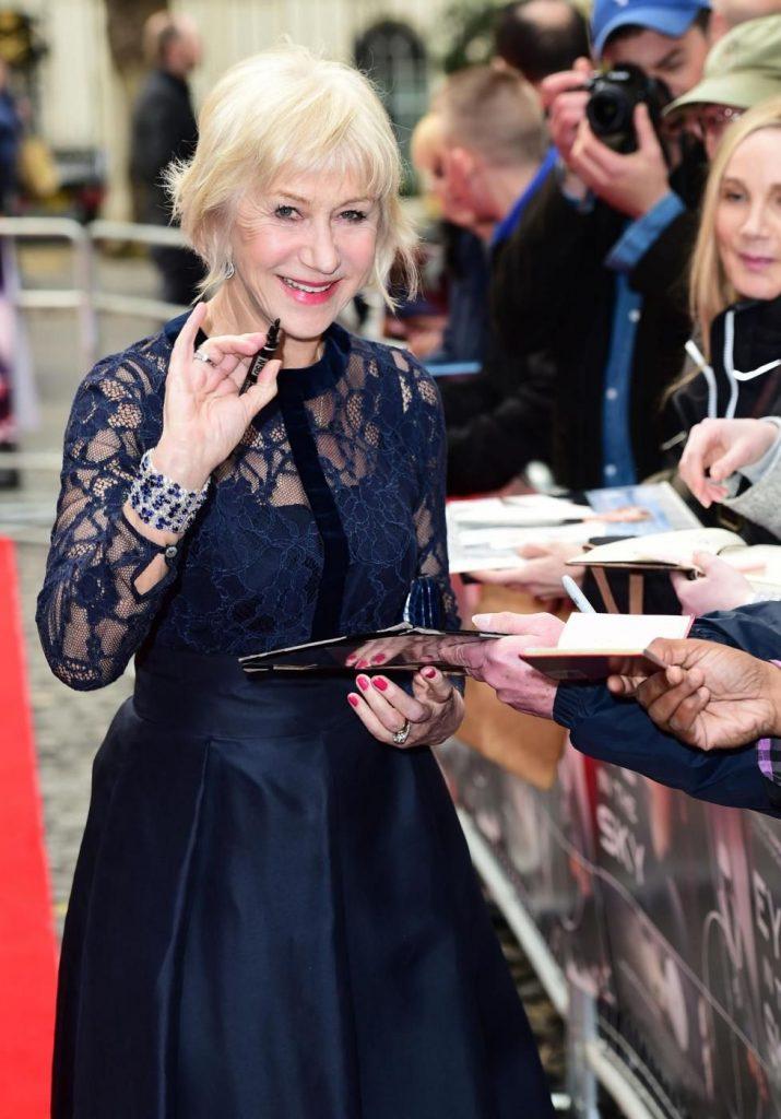 Helen Mirren oggi