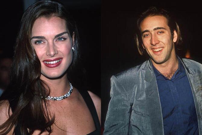 Brooke Shields e Nicolas Cage