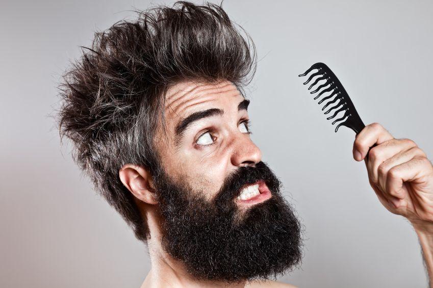 7 Barba poco curata