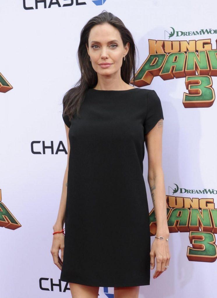 Angelina Jolie nel 2016