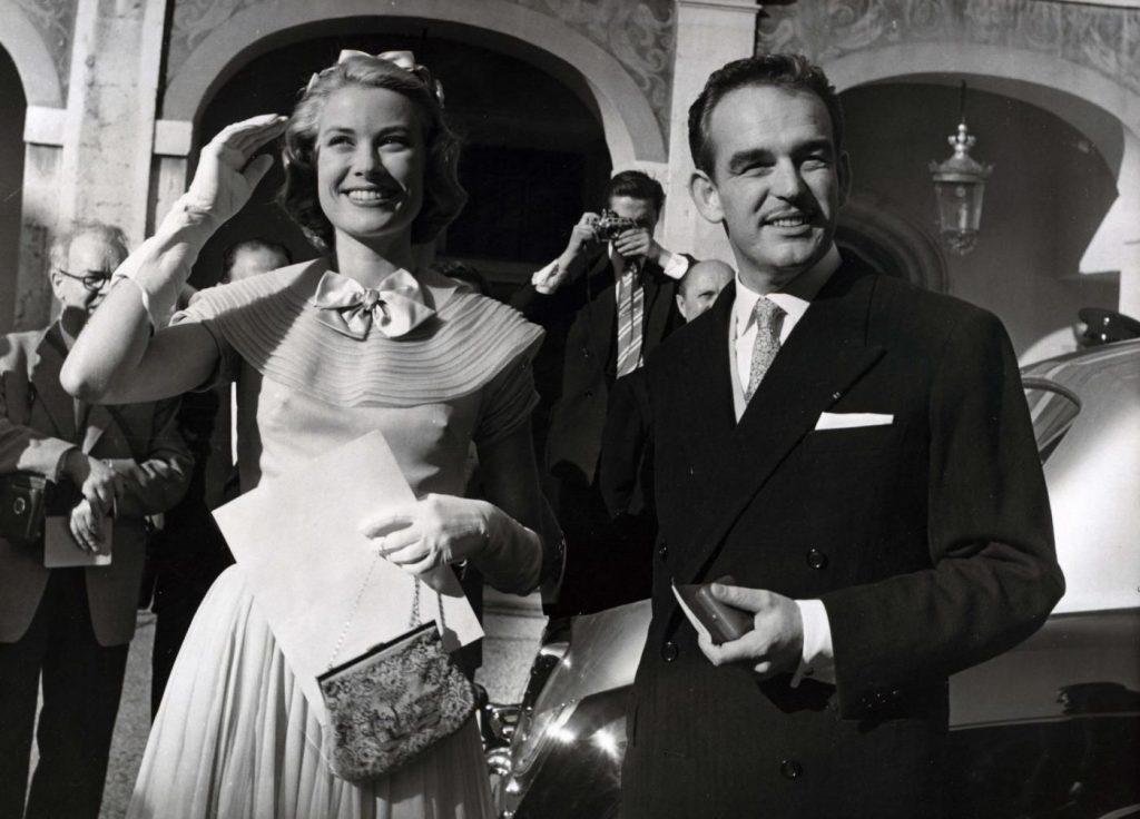 Grace Kelly e il Principe Ranieri di Monaco