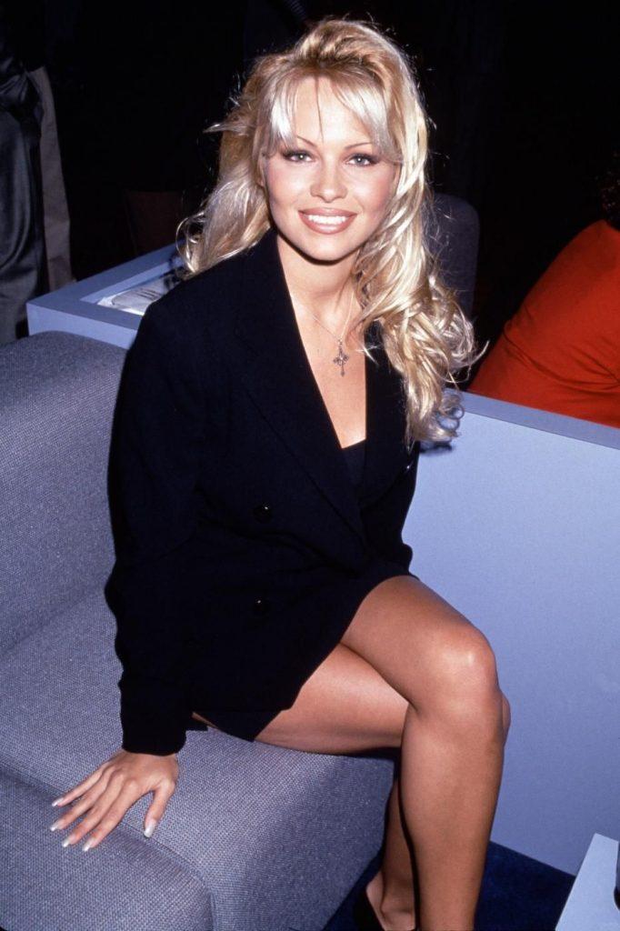 Pamela Anderson nel 1990