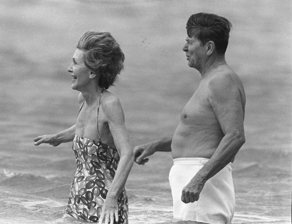 Ronald e Nancy Reagan
