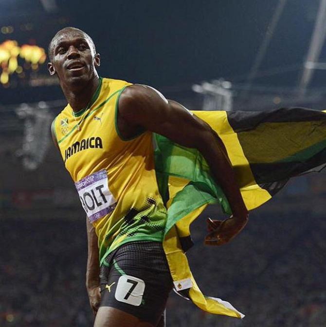 14 Usain Bolt