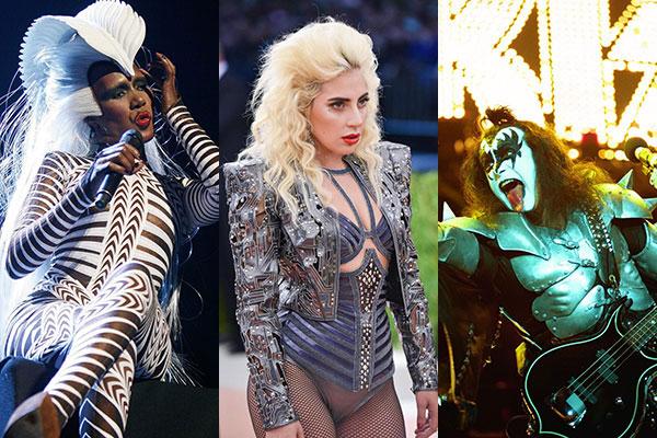 I look più eccentrici nella storia della musica