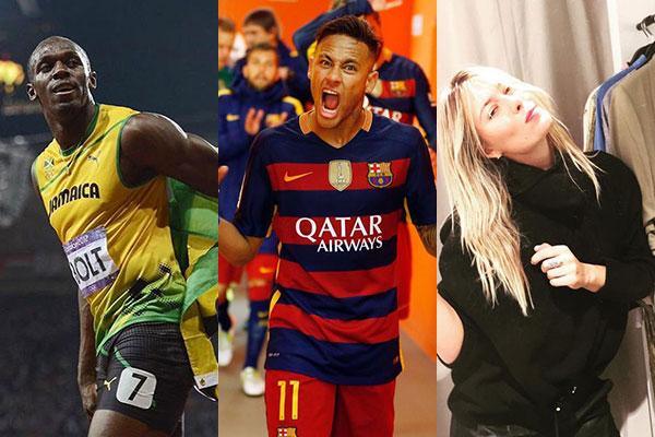Gli sportivi più famosi (e più social) del mondo