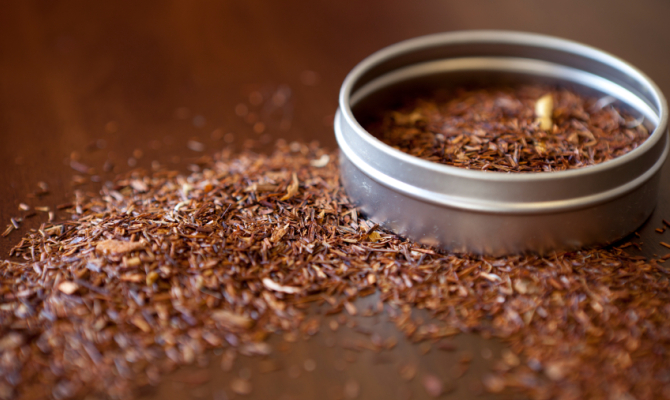 Tè rosso rooibos