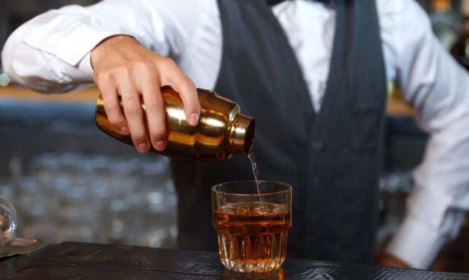 bartender, bar, cocktail