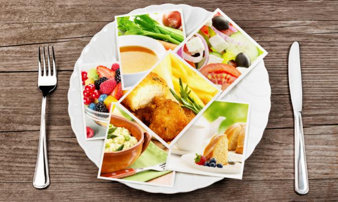 Porzioni di cibo