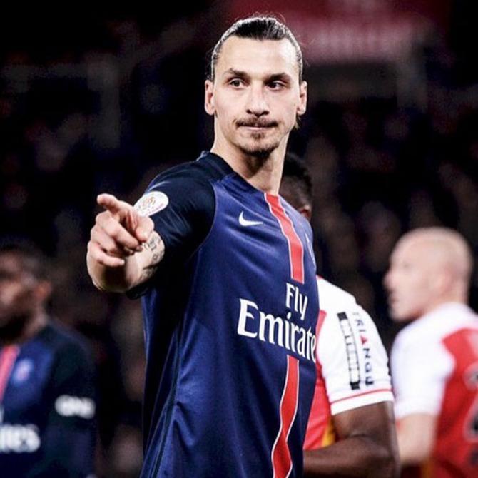 20 Zlatan Ibrahimovic