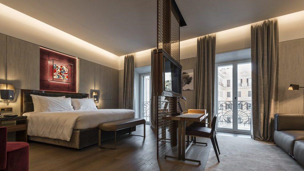 A Roma, l'esclusivo hotel Fendi