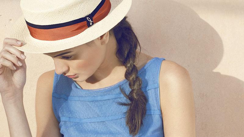 Moda estiva cappelli Doria 1905