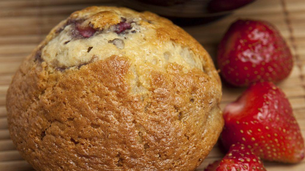 Muffin con le fragole