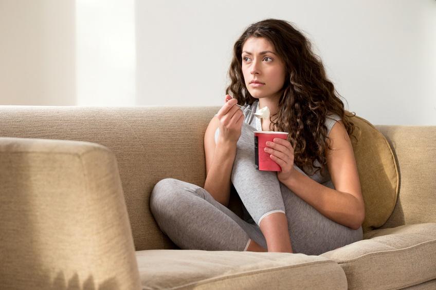Depressione sul divano