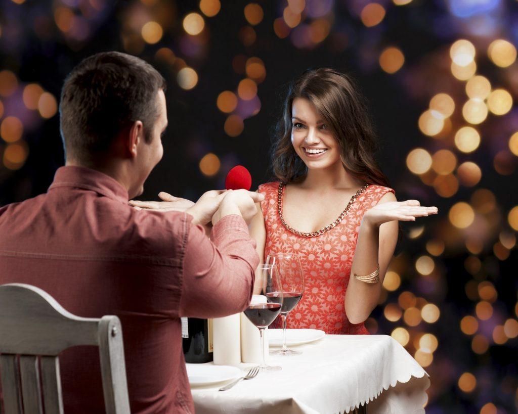 L'amore si decide al ristorante