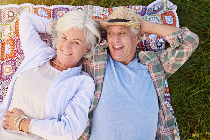 Coppia di pensionati