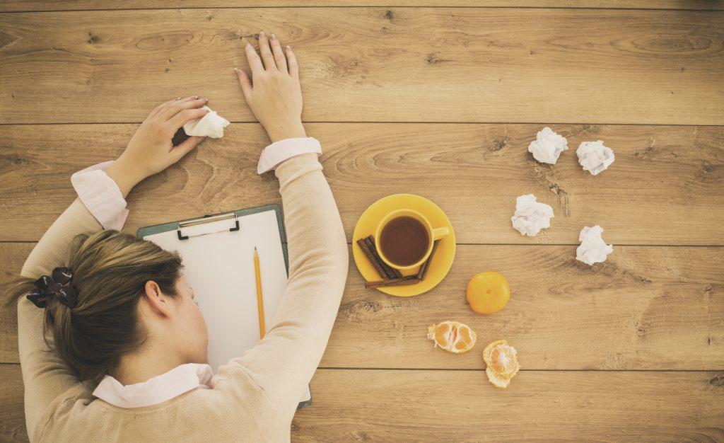 Donne che lavorano troppo stanno male
