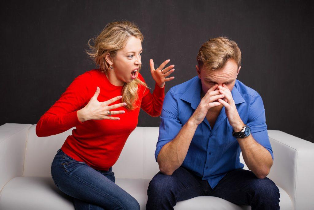 Litigare fa male alla salute (maschile)