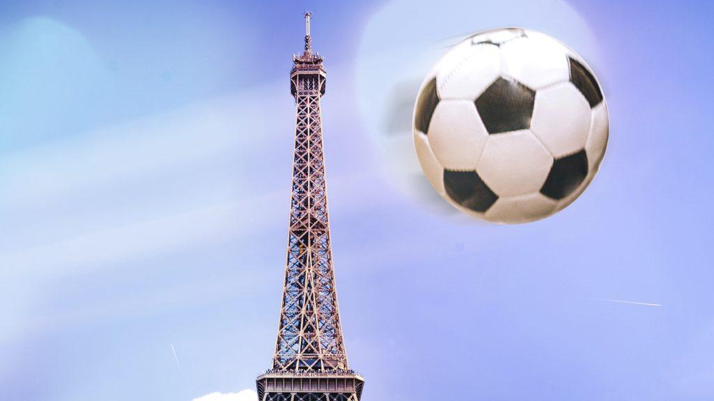 Tour Eiffel e pallone