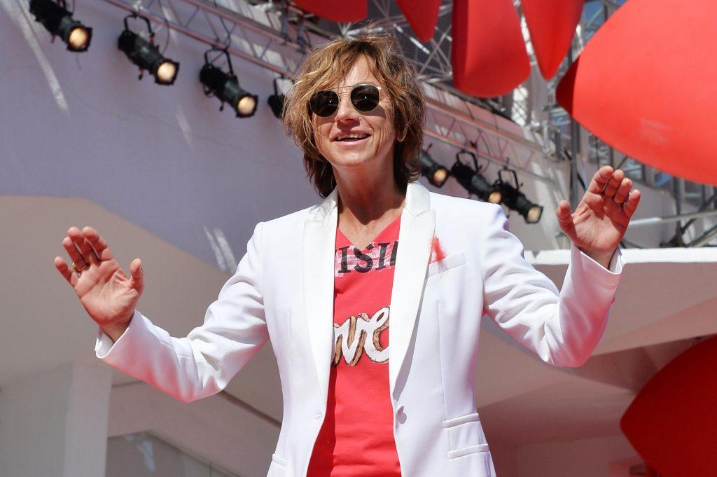 Gianna Nannini al Festival del Cinema di Venezia - Foto LaPresse