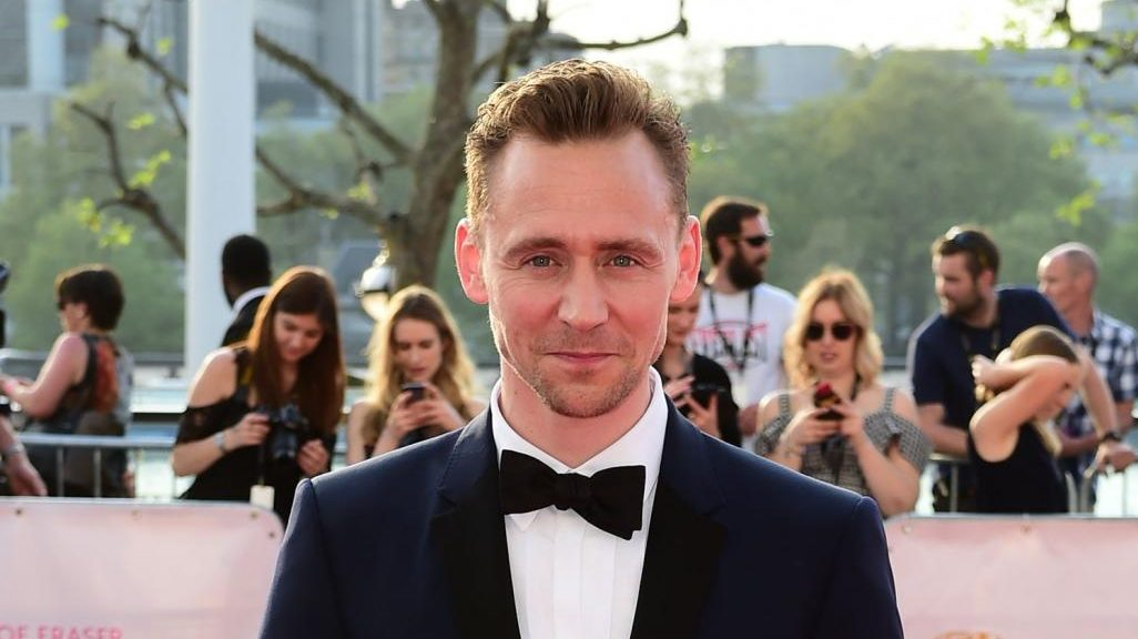 L'attore Tom Hiddleston