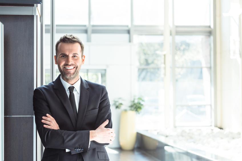 Uomo business man