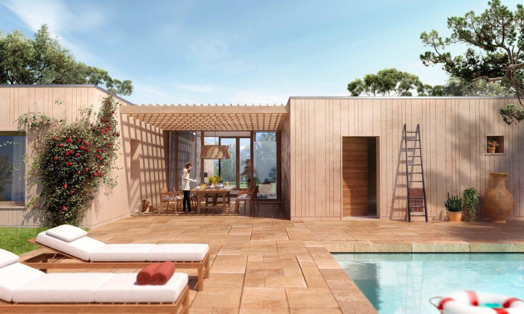 Mettere su casa in 8 settimane for Caratteristiche dell architettura in stile mediterraneo