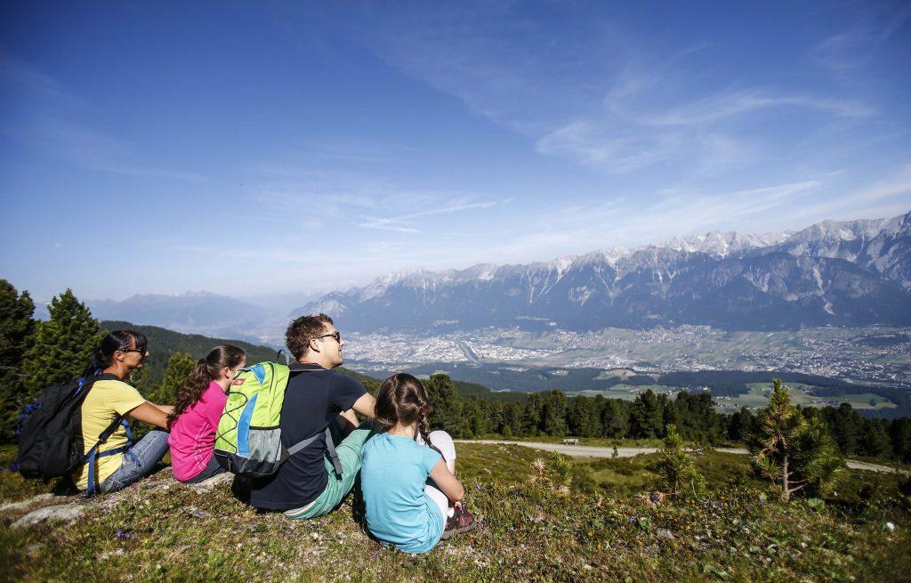 La zona di Hall Wattens è perfetta per escursioni e gite