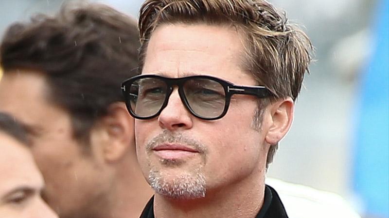 Brad Pitt indossa occhiali numero 7 by Tom Ford