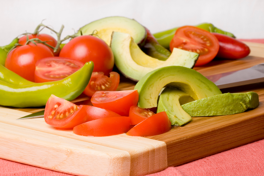 Avocado e pomodori