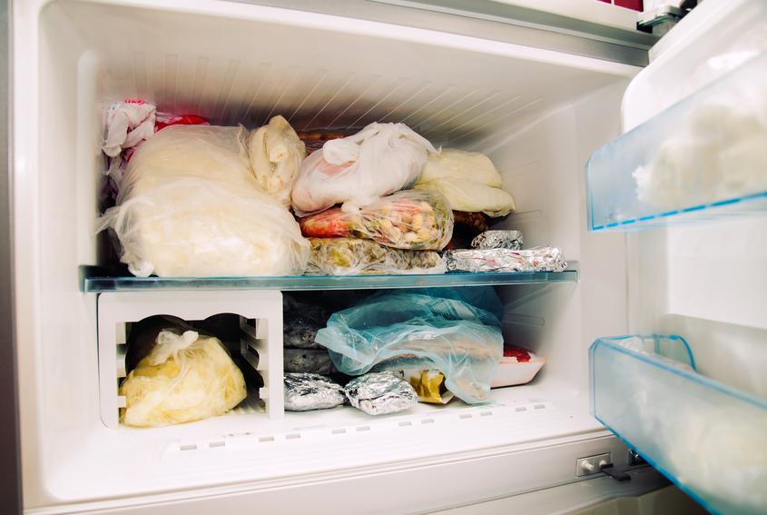 Congelatore pieno