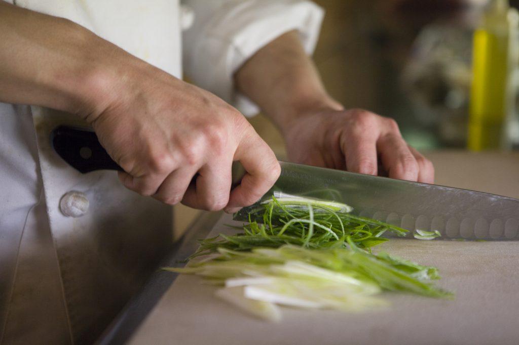 Vegetali: il sapore dipende dal taglio
