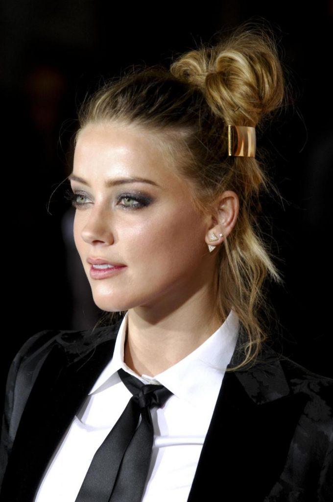 Amber Heard. LaPresse